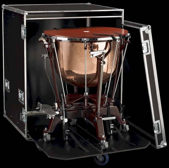 Flight case with Berlin Classic Timpani