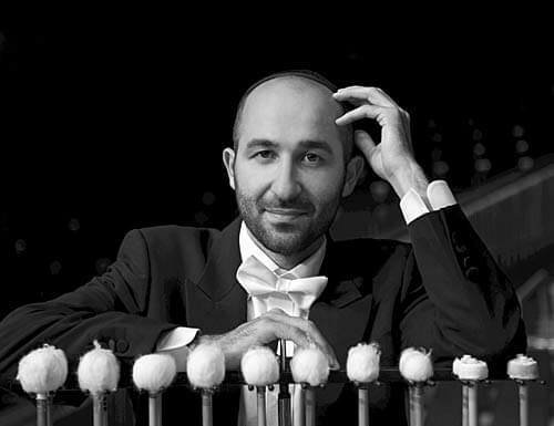 Timpanist Dan Moshayev
